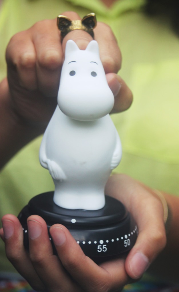 Moomin egg timer