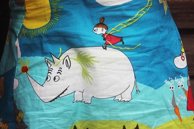 Moomin safari skirt