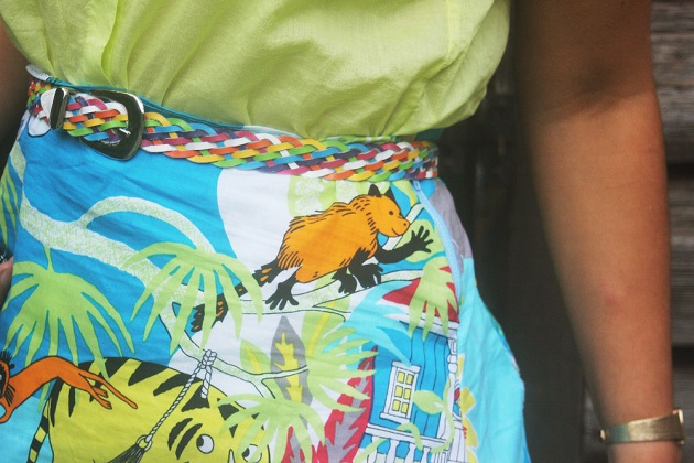 Moomintroll skirt