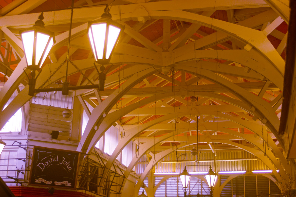 oxford covered market interior arches roof