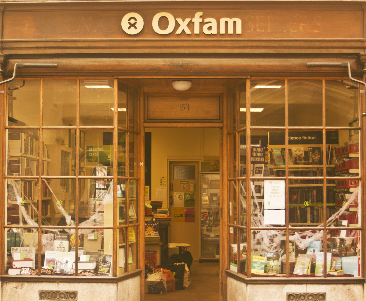 shop front outside aesthetic oxford window oxfam