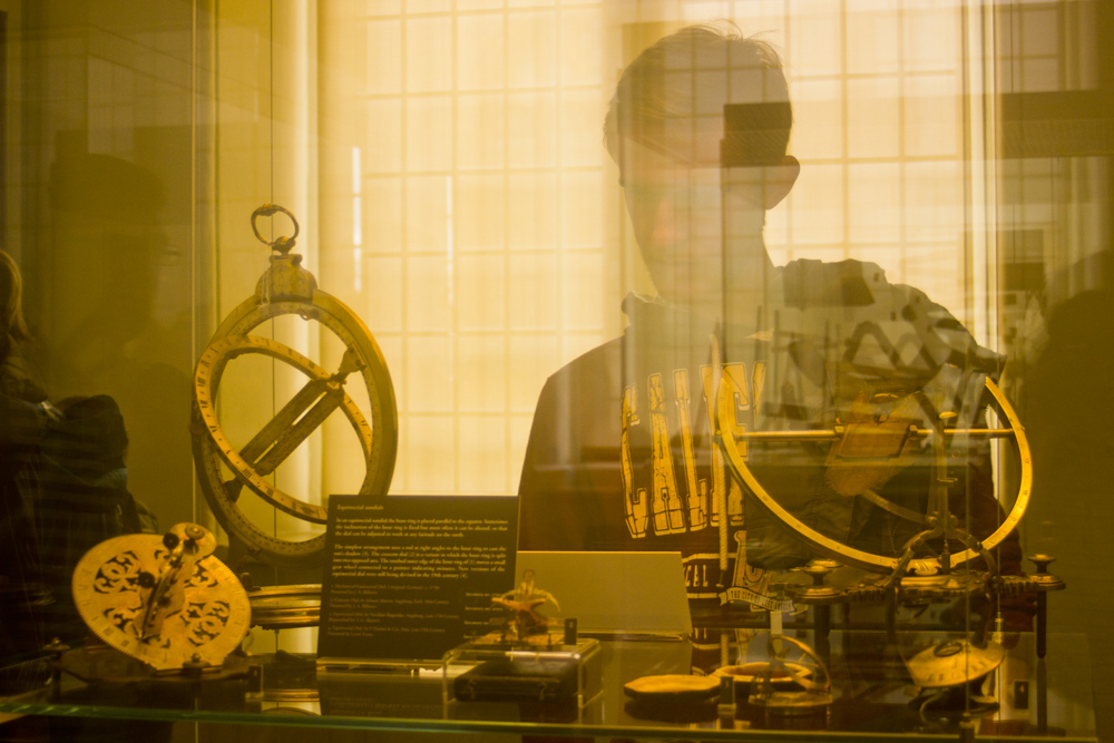 museum of science history oxford display interior scientific objects old antique