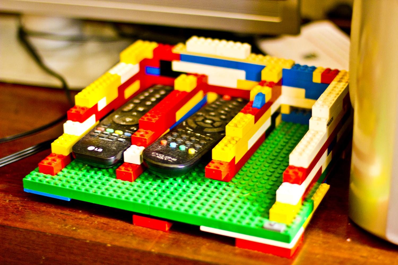 lego remote control holder