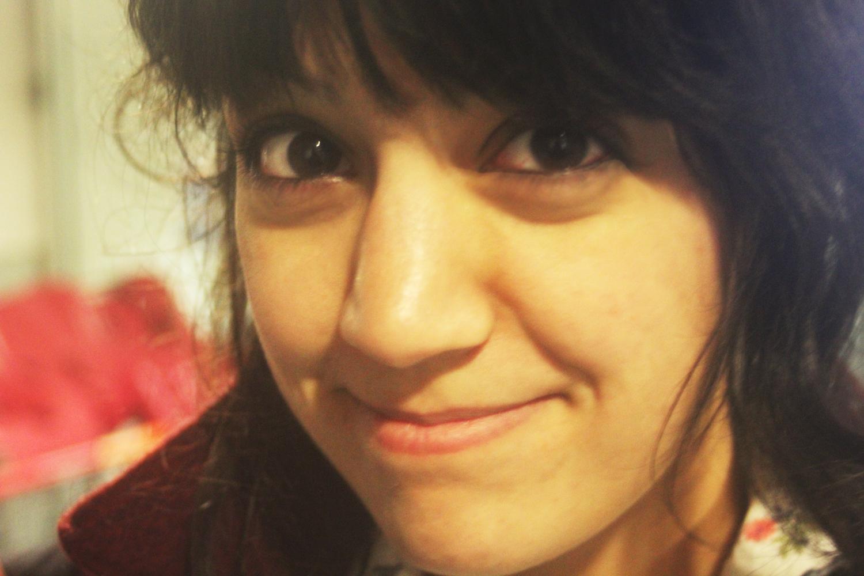laila close-up girl face mixed