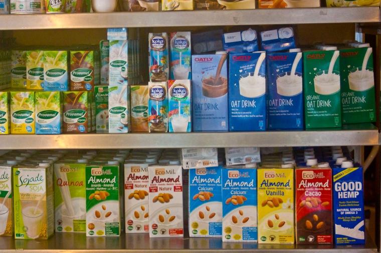 vegan alternatives to milk