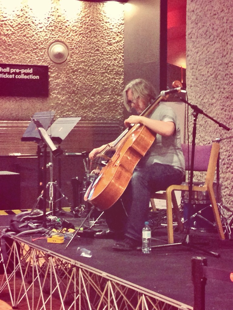 Pete Nagle cello barbican wikimania 2014