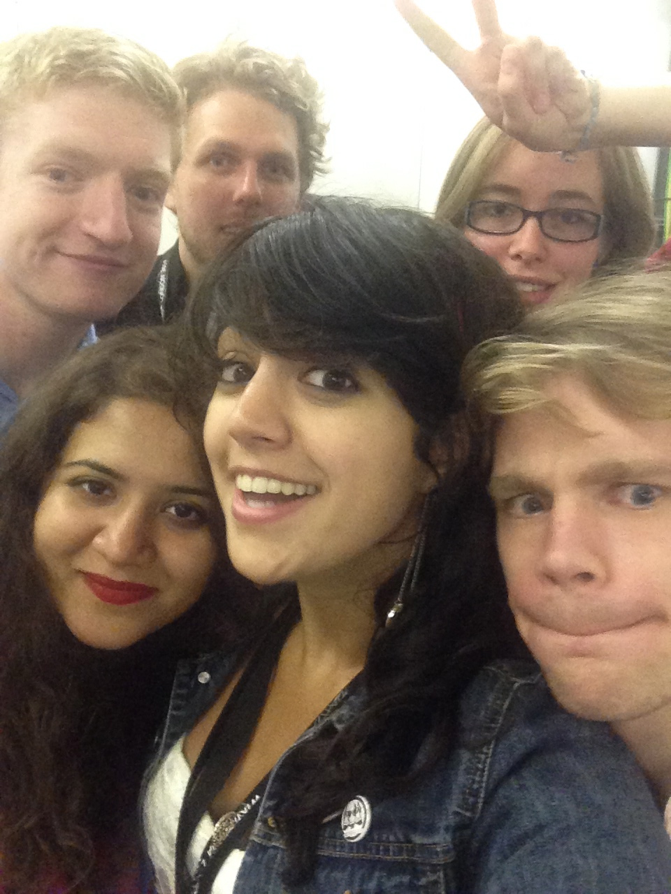 team leaders selfie wikimania 2014 london